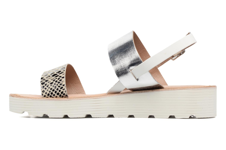 Sandales et nu-pieds Kaporal Higor Gris vue face