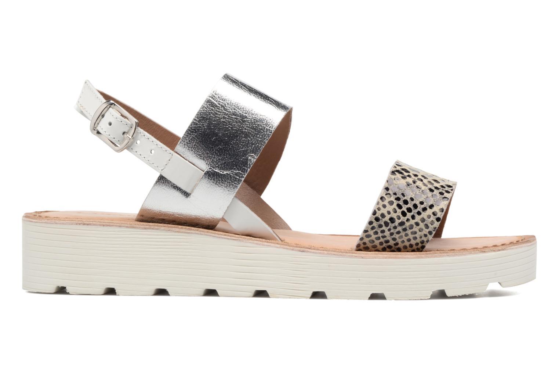 Sandales et nu-pieds Kaporal Higor Gris vue derrière