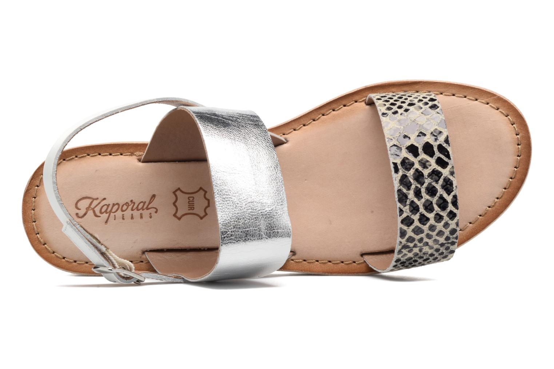 Sandales et nu-pieds Kaporal Higor Gris vue gauche