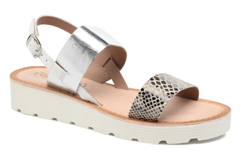 Sandales et nu-pieds Kaporal Higor Gris vue détail/paire