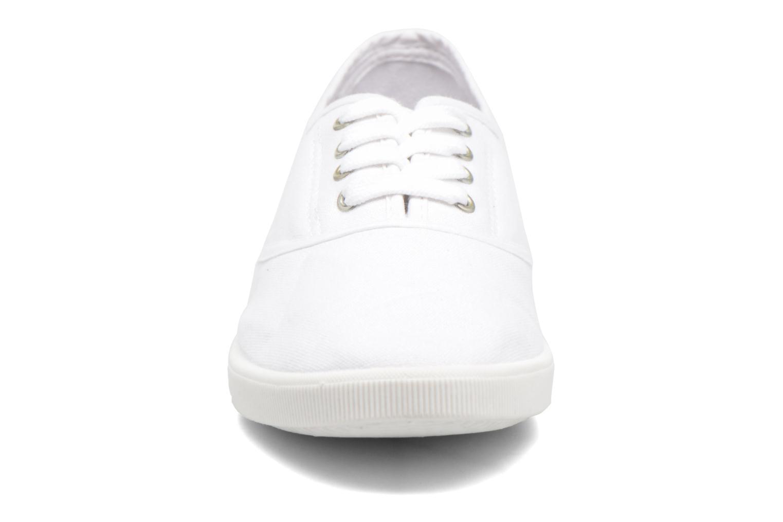 Baskets Kaporal Carli Blanc vue portées chaussures