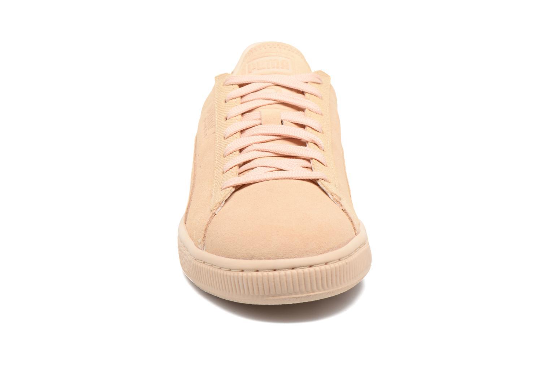 Baskets Puma Suede Classic Tonal W Beige vue portées chaussures