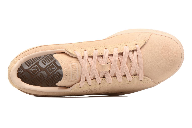 Baskets Puma Suede Classic Tonal W Beige vue gauche