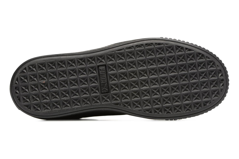 Sneaker Puma Wns Basket Platform Reset schwarz ansicht von oben