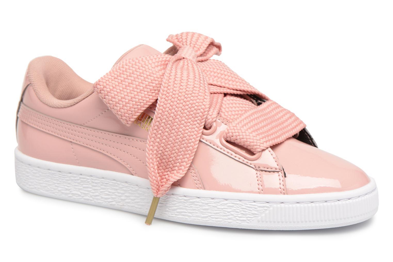 Los zapatos más populares para hombres y mujeres Puma Basket Heart Patent Wn's (Rosa) - Deportivas en Más cómodo