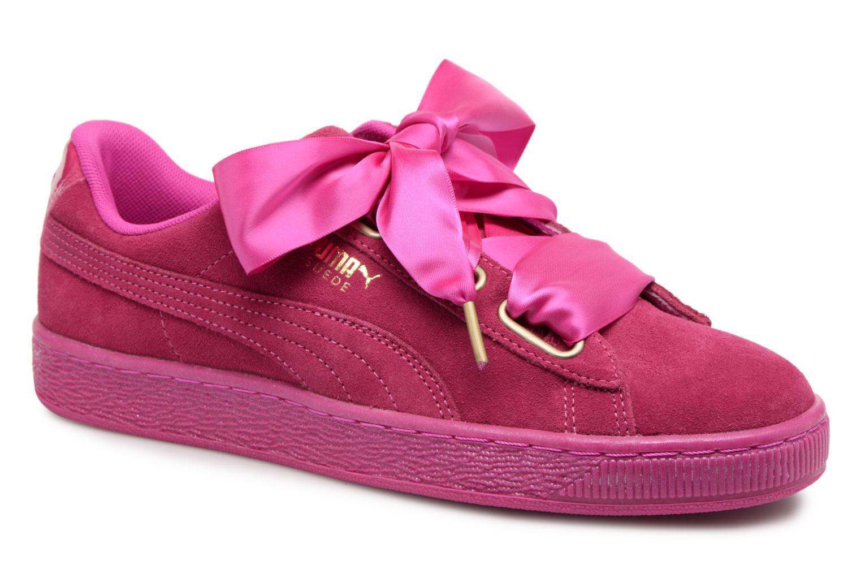 Zapatos promocionales Puma Suede Heart Satin Wn's (Rosa) - Deportivas   Venta de liquidación de temporada