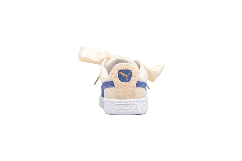 Baskets Puma Basket Heart Denim Wn's Beige vue droite