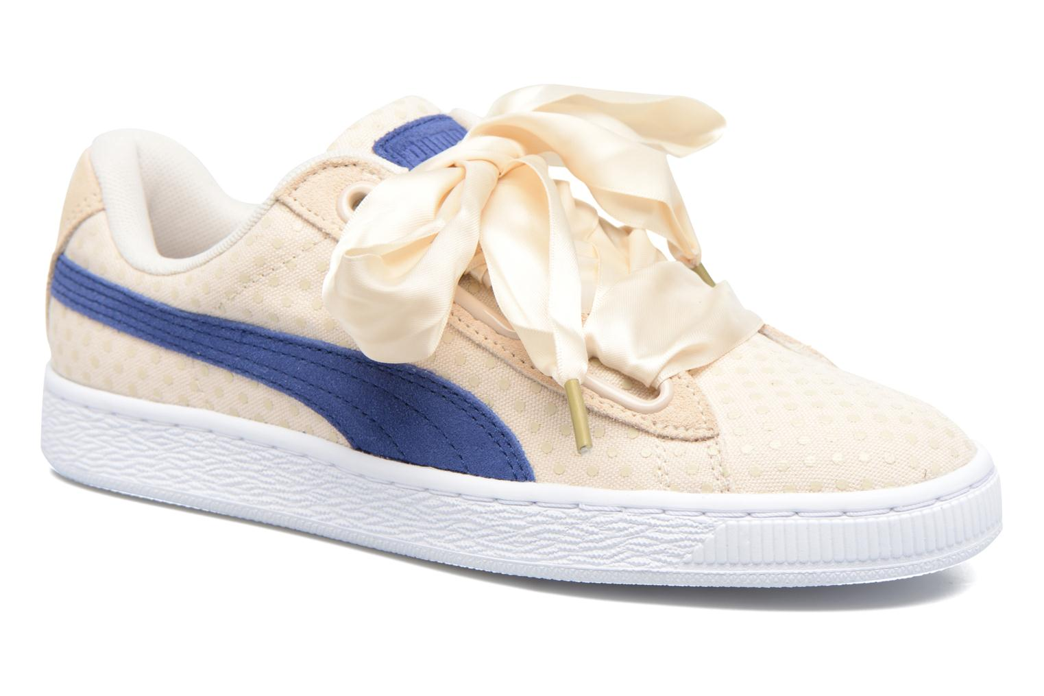 Puma Basket Heart Denim Wn's Beige KZDaN1P3