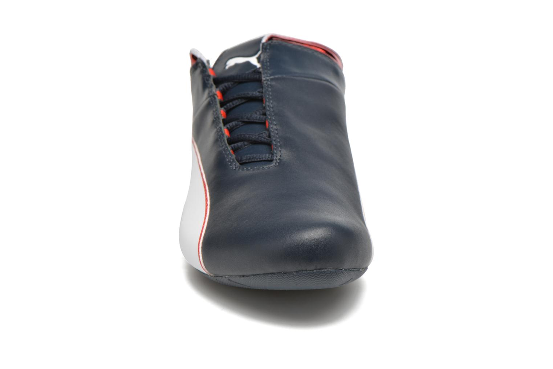 Baskets Puma BMW MS Future Cat MU Bleu vue portées chaussures