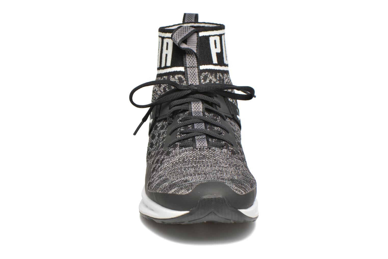 Baskets Puma Ignite 3 Evoknit Noir vue portées chaussures