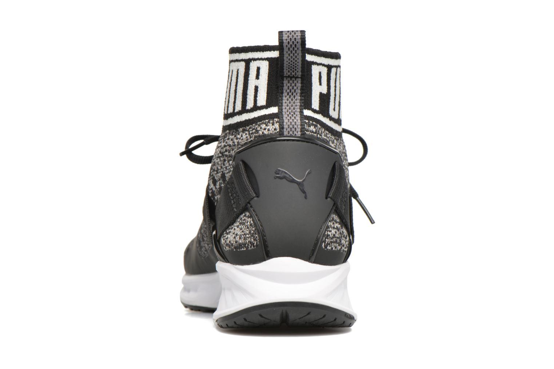 Baskets Puma Ignite 3 Evoknit Noir vue droite