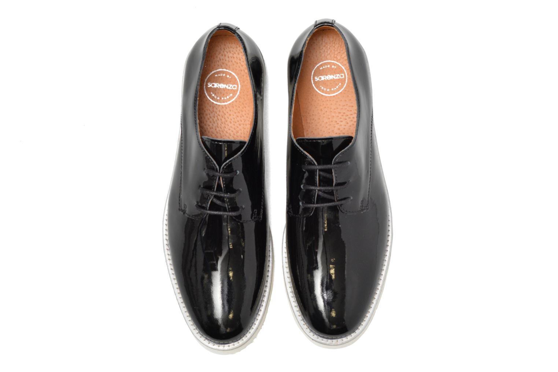 Chaussures à lacets Made by SARENZA Vegas Lipstick #10 Noir vue portées chaussures