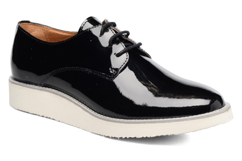 Chaussures à lacets Made by SARENZA Vegas Lipstick #10 Noir vue droite