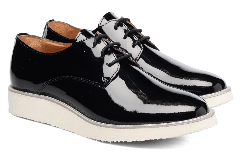 Chaussures à lacets Made by SARENZA Vegas Lipstick #10 Noir vue derrière