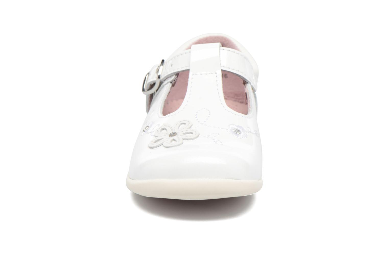 Ballerines Start Rite Sunflower Blanc vue portées chaussures
