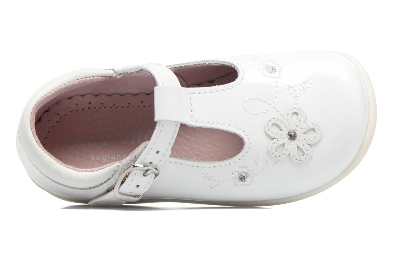 Ballerines Start Rite Sunflower Blanc vue gauche