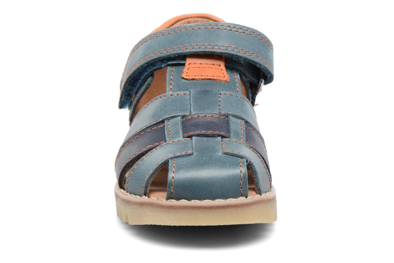 Sandales et nu-pieds Start Rite Climb Bleu vue portées chaussures