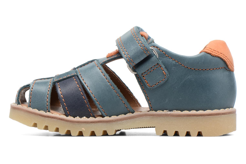 Sandales et nu-pieds Start Rite Climb Bleu vue face