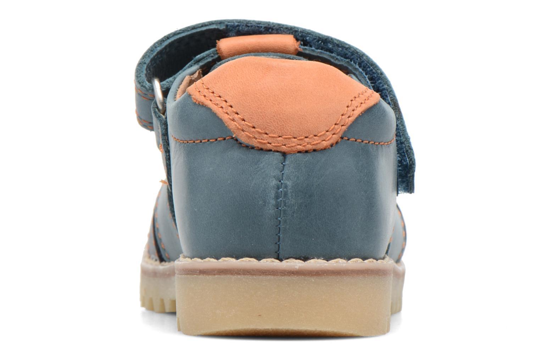 Sandales et nu-pieds Start Rite Climb Bleu vue droite