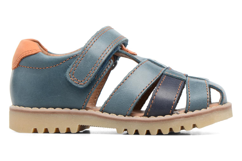 Sandales et nu-pieds Start Rite Climb Bleu vue derrière