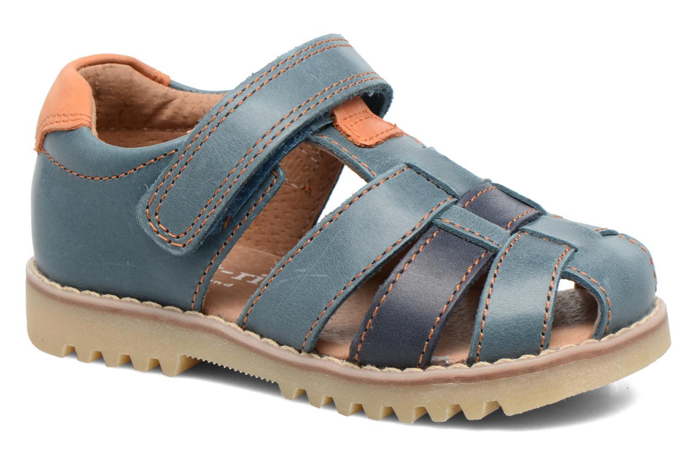 Sandales et nu-pieds Start Rite Climb Bleu vue détail/paire