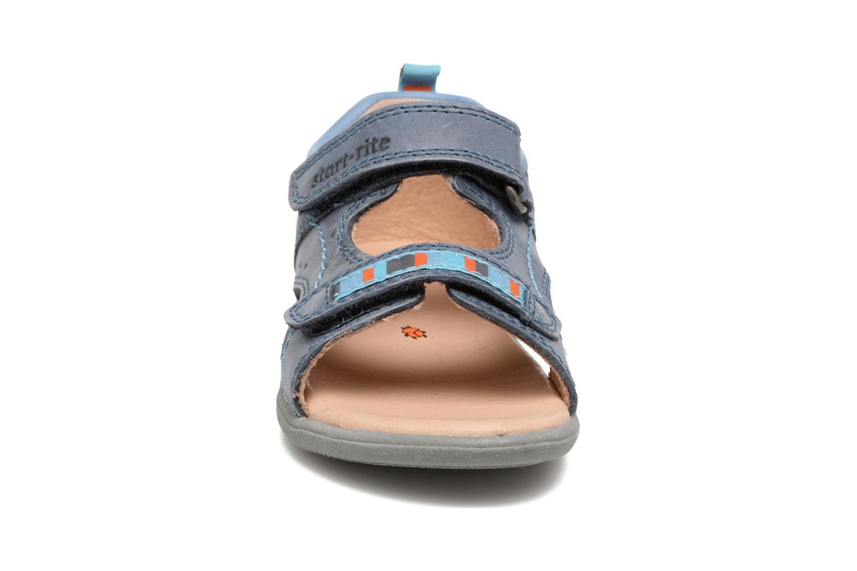 Sandales et nu-pieds Start Rite Elliot Bleu vue portées chaussures