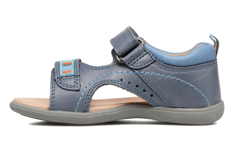 Sandales et nu-pieds Start Rite Elliot Bleu vue face