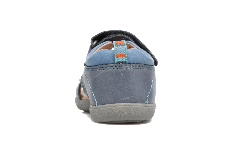 Sandales et nu-pieds Start Rite Elliot Bleu vue droite