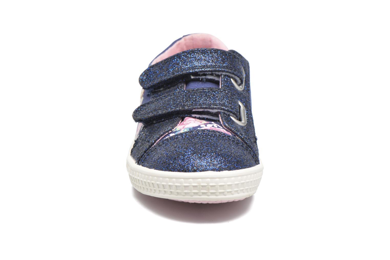 Baskets Start Rite Edith Bleu vue portées chaussures