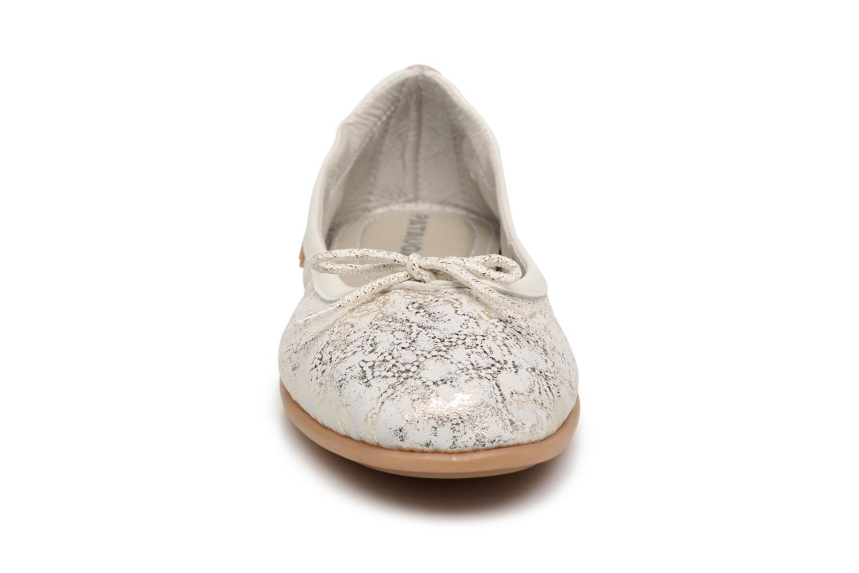 Ballerines Pataugas Sanuk/MT Or et bronze vue portées chaussures