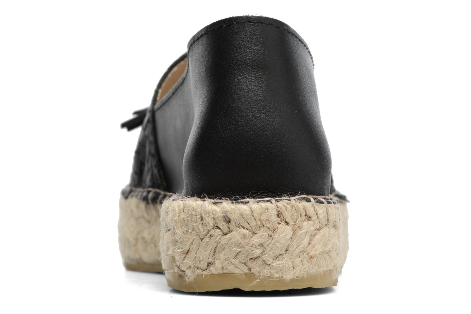 Espadrilles Georgia Rose Inopong Black view from the right