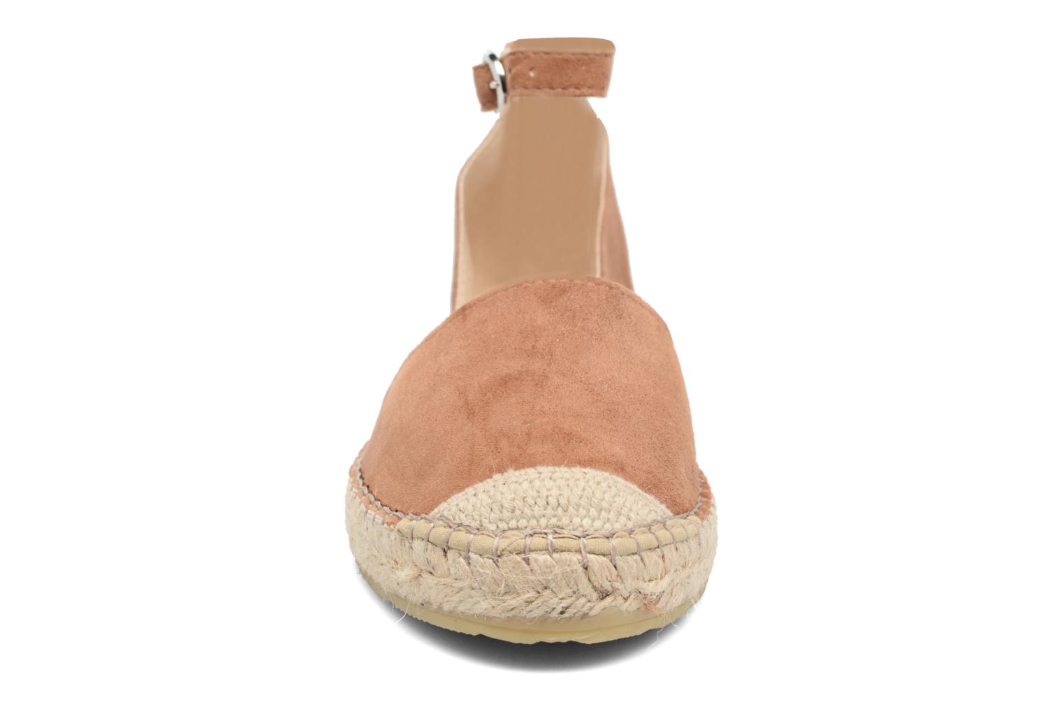Espadrilles Georgia Rose Idalore Brown model view