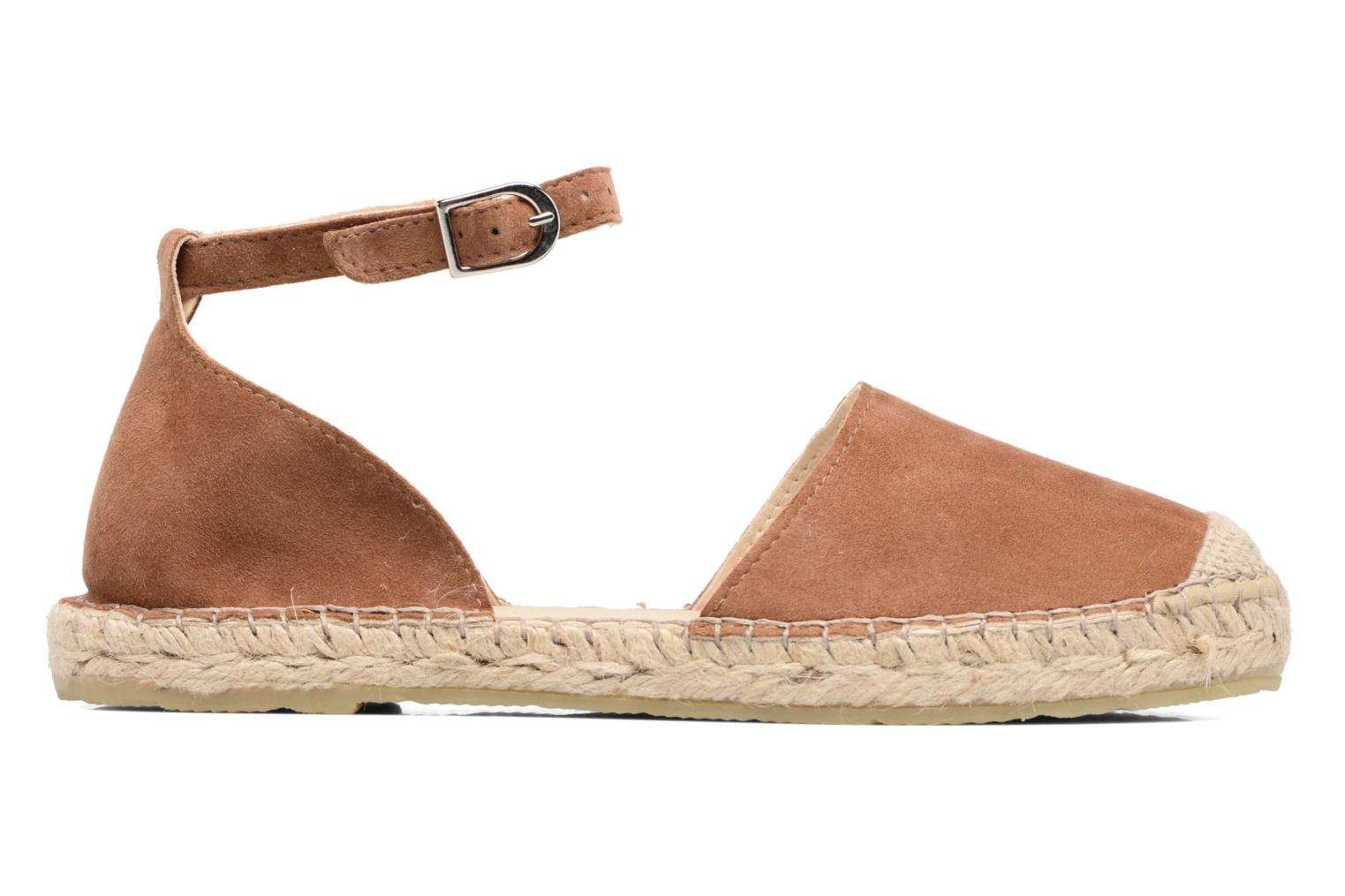 Espadrilles Georgia Rose Idalore Brown back view