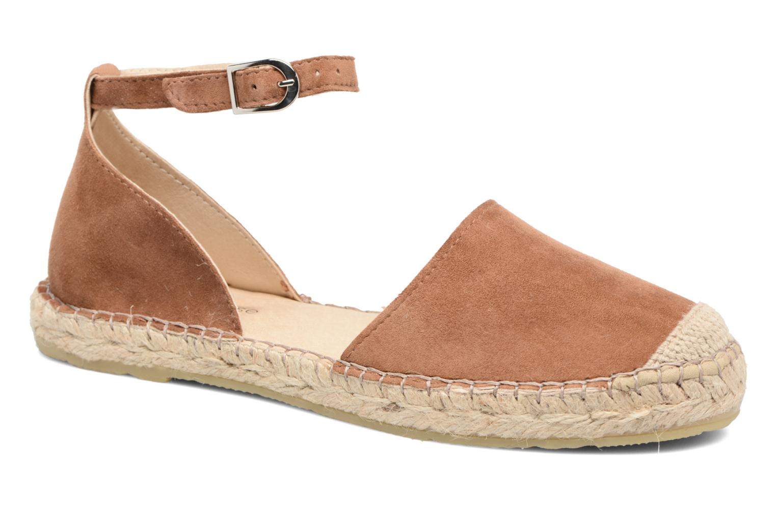 Espadrilles Georgia Rose Idalore Brown detailed view/ Pair view