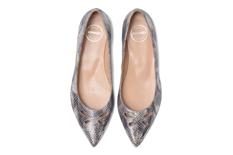 Ballet pumps Made by SARENZA Vegas Lipstick #5 Silver model view
