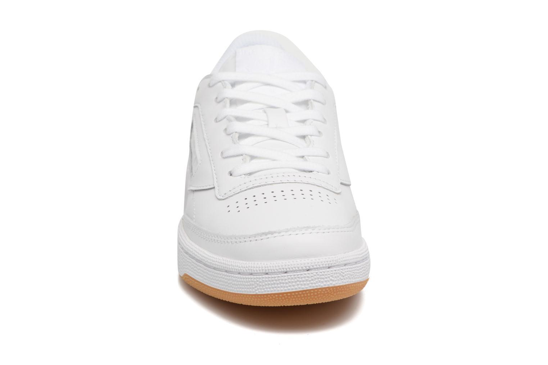 Baskets Reebok Club C 85 Diamond Blanc vue portées chaussures