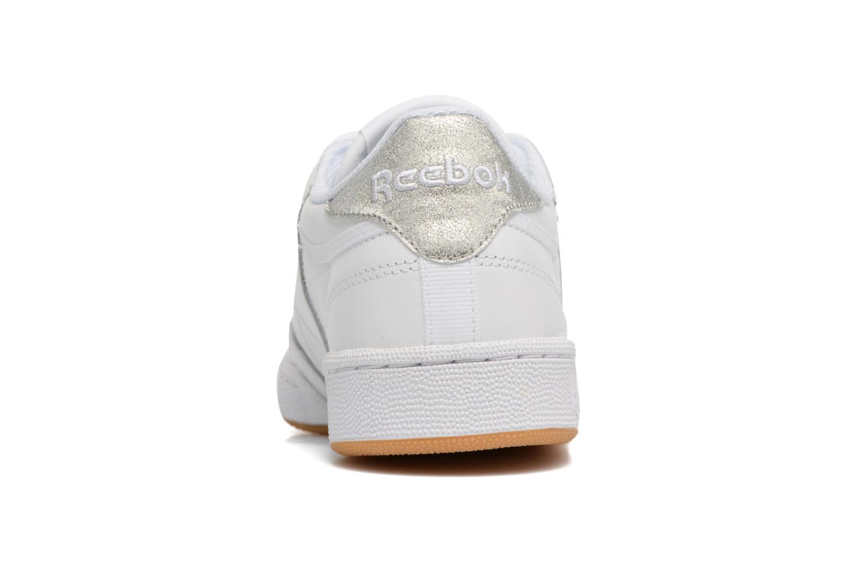 Baskets Reebok Club C 85 Diamond Blanc vue droite