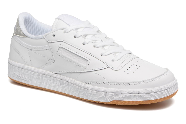 Club C 85 Diamond White/gum