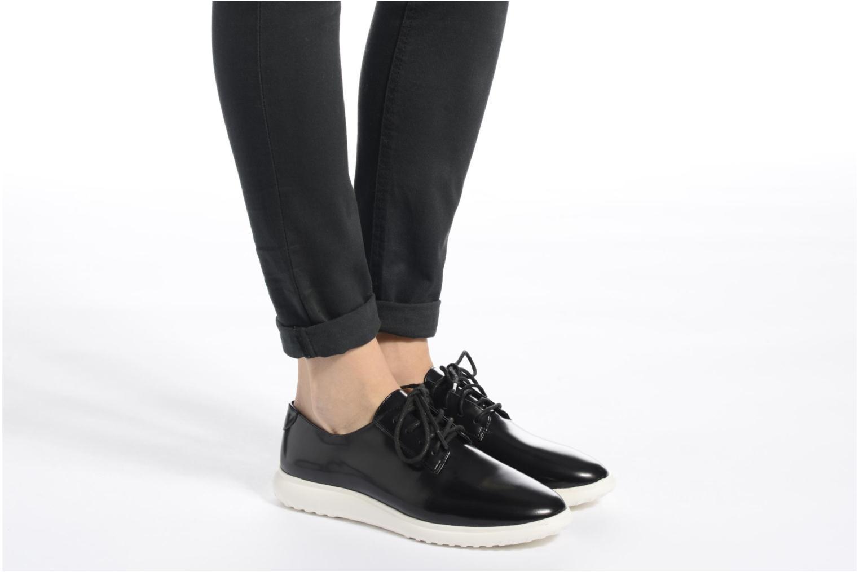 Chaussures à lacets What For Iris Noir vue bas / vue portée sac