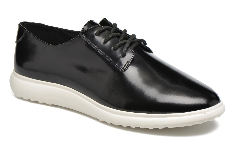 Chaussures à lacets What For Iris Noir vue détail/paire