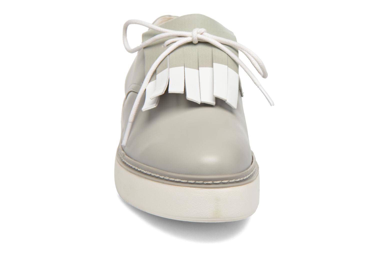 Chaussures à lacets What For Lily Gris vue portées chaussures