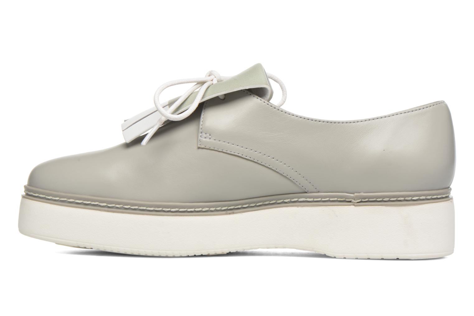 Chaussures à lacets What For Lily Gris vue face