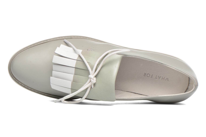 Chaussures à lacets What For Lily Gris vue gauche