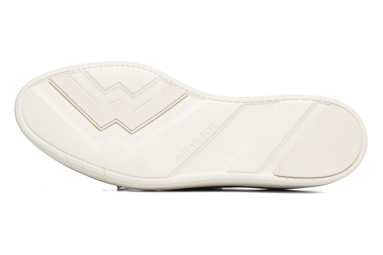 Chaussures à lacets What For Lily Gris vue haut