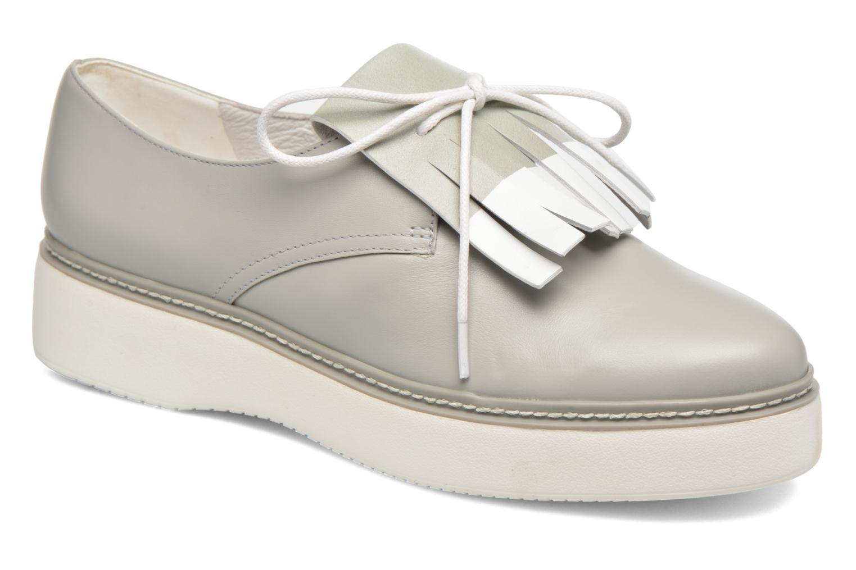 Chaussures à lacets What For Lily Gris vue détail/paire