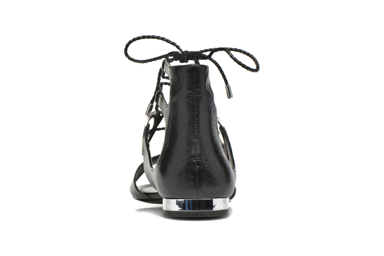Sandales et nu-pieds What For Primrose Noir vue droite