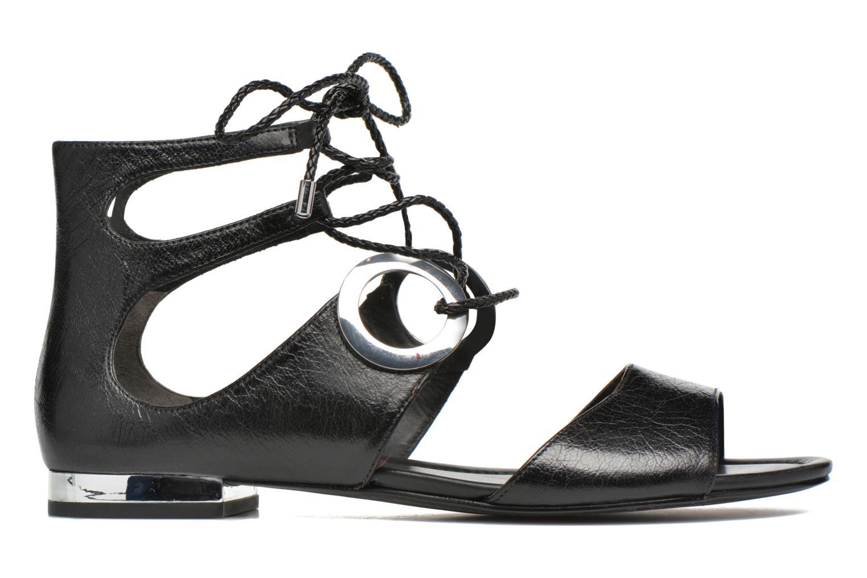Sandales et nu-pieds What For Primrose Noir vue derrière