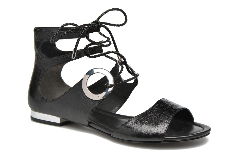 Sandales et nu-pieds What For Primrose Noir vue détail/paire