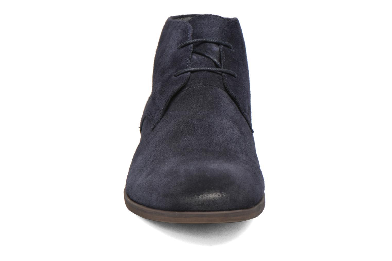 Chaussures à lacets Vagabond Shoemakers LINHOPE DESERT BOOTS 4370-440 Bleu vue portées chaussures