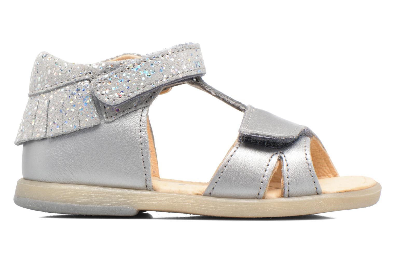 Sandales et nu-pieds Babybotte Tchipi Argent vue derrière